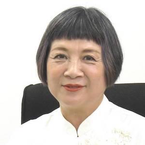 山崎多賀子氏 対談写真